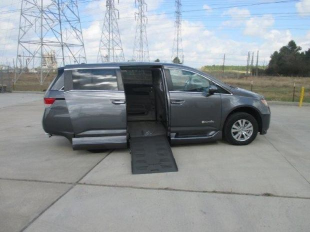 for sale texas pasadena 2016 new honda odyssey ex l wheelchair vehicle wheelchair vans. Black Bedroom Furniture Sets. Home Design Ideas