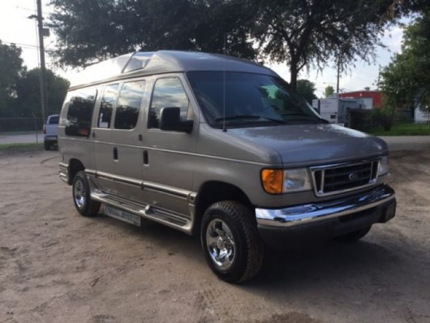 2003 Ford Econoline Cargo  Adaptive Driving Access, Inc.