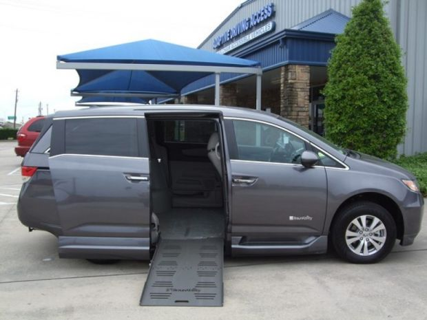 photo of 2015 Honda Odyssey Ex-l Braunability Entervan Braun