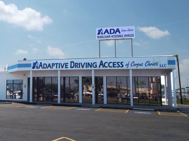 Ada Corpus Christi Location on Chrysler Town And Country Mobility Vans