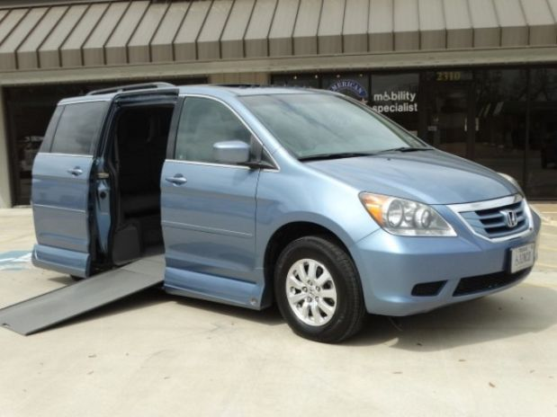 Mobility Van Dealers Tx >> For Sale Texas Beaumont : 2010 Very Good Honda Odyssey Wheelchair Vehicle | Wheelchair Vans ...