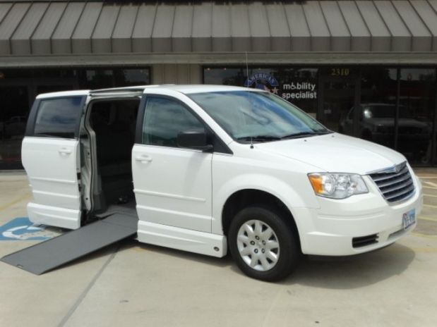 photo of 2010 Chrysler Town & Country Lx Minivan 4d Clock Conversions